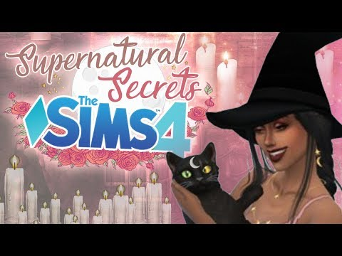 A Witch's Best Friend | Sims 4 Supernatural Secrets | Ep. 3