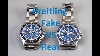 Fake VS Real Breitling SuperOcean II 44