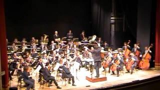 Piero Romano dirige Gershwin Overture Cubana - Orchestra della Magna Grecia