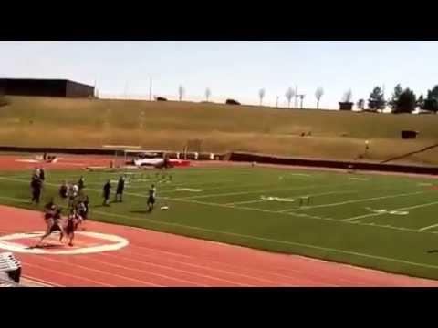 Bismarck Middle School 7th grade 100m