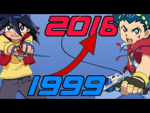 Evolution/History Of Beyblade Games (1999-2018)