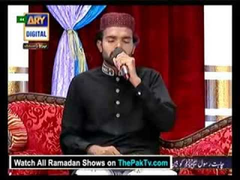 shan e ramzan Aftar naat by Hafiz Hassan Raza Sialvi on Ary Digital