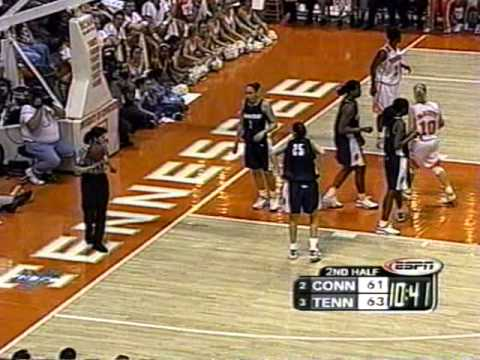 2000 01 UCONN at Tennessee
