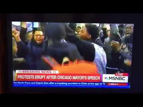 Chicago Protests In Downtown; Impact On NFL Draft?