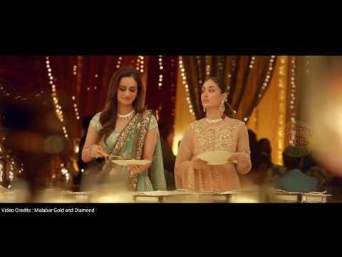 Miss World MANUSHI CHILLAR with KAREENA KAPOOR KHAN in Jewellery Ad.   Malabar Gold & Diamonds  
