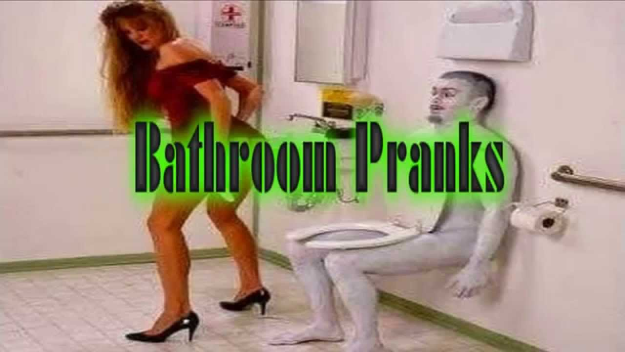 Funny pranks funny videos funny bathroom pranks youtube for Bathroom funny videos
