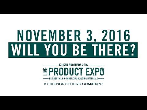 Kuiken Brothers LIVE Product Expo Nov 3, 2016 - Mahwah, NJ