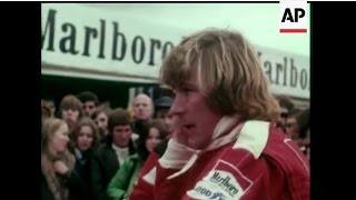 Tribute Day For Motor Racing Driver James Hunt
