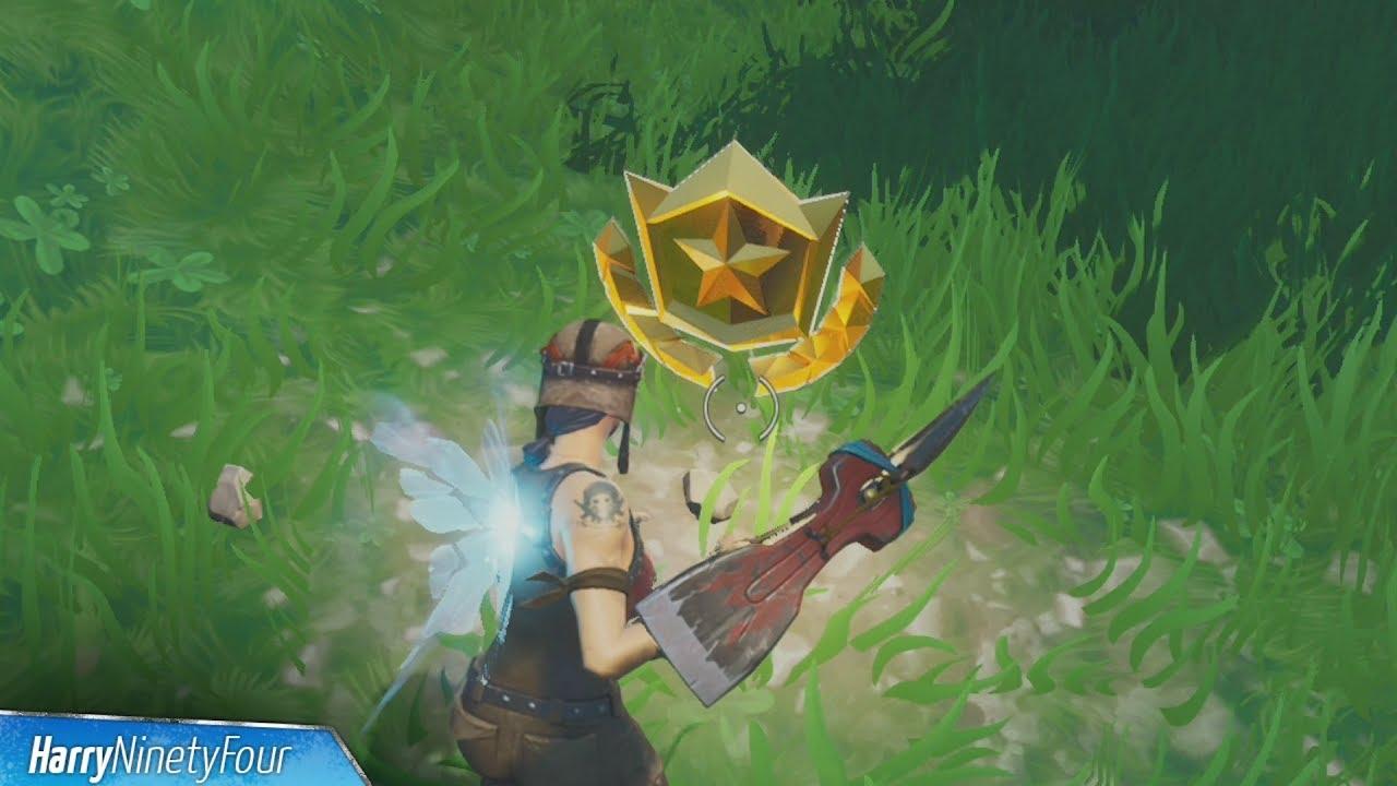 Secret Season 9 Week 5 Battle Star Location Guide (Utopia Challenges) -  Fortnite Battle Royale
