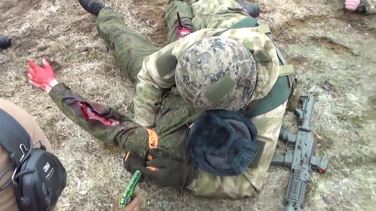 Тактическая медицина: осмотр раненого