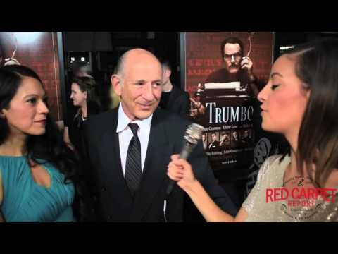 Richard Portnow Interviewed on the Red Carpet at U.S. Premiere of TRUMBO #TrumboMovie