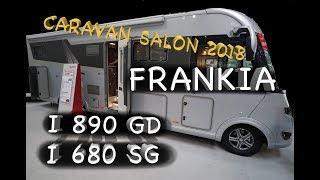 Wohnmobile FRANKIA * Neuheiten F-Line - Caravan Salon 2018