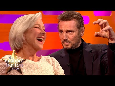 Liam Neeson Discusses His Sex  with ExGirlfriend Helen Mirren  The Graham Norton