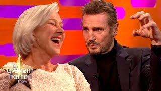 vuclip Liam Neeson Discusses His Sex Scene with Ex-Girlfriend Helen Mirren | The Graham Norton Show