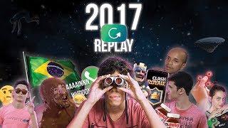 2017 REPLAY! ↪️🔥 (Retrospectiva de MEMES brasileiros) #rewindbr