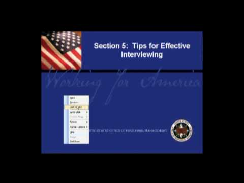 Structured Interview Training