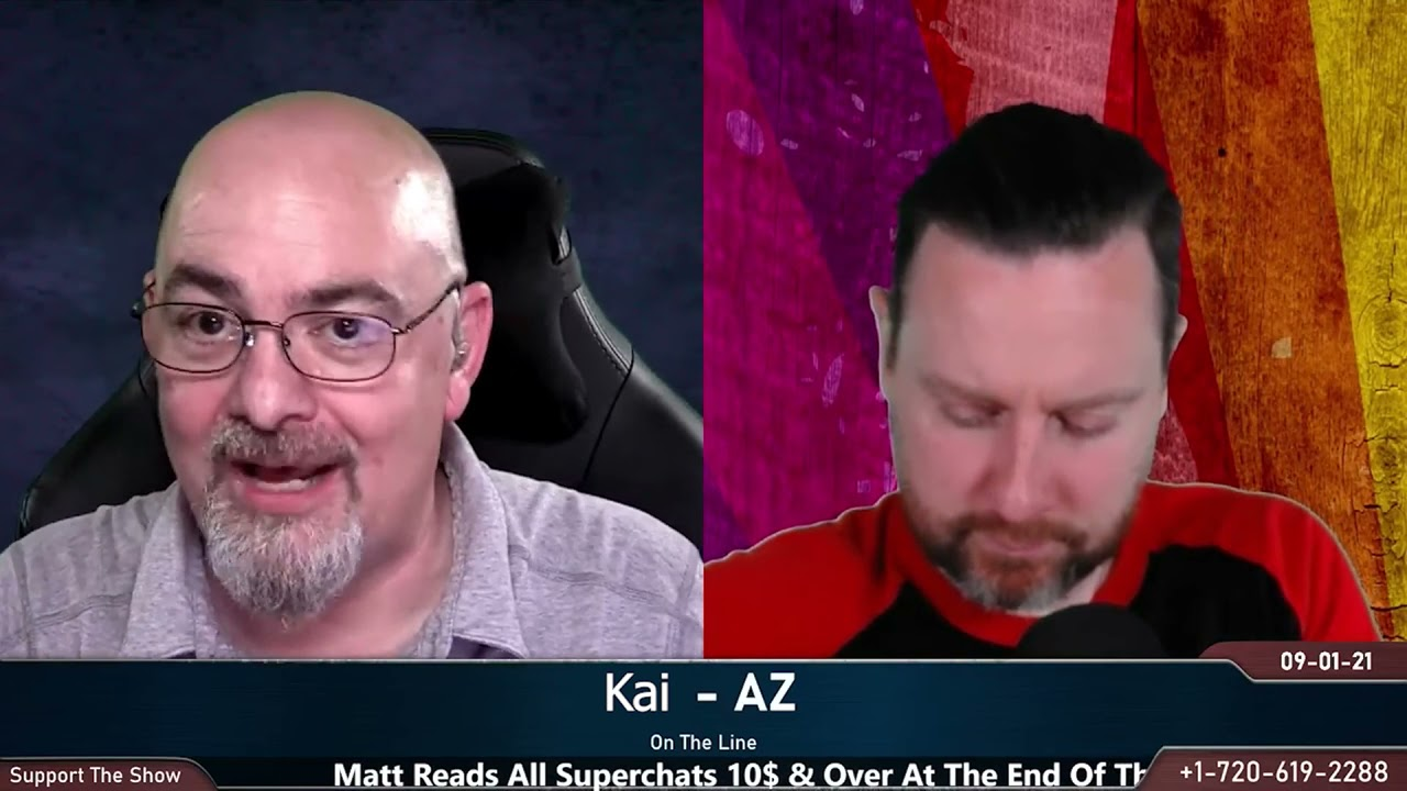 I Can't See The Meaning of Life Without Religion  Kai -AZ  Hang Up w/ Matt Dillahunty