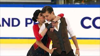 Елизавета Шанаева - Дэвид Нарижный. Ритм-танец. Танцы.  Гран-при по фигурному катанию