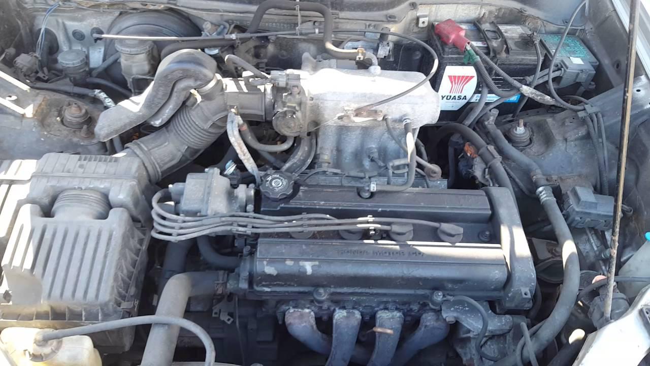 щелчки в двигателе b20b honda crv rd1