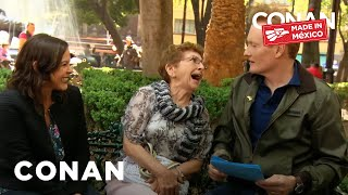 Conan Tries Out His Spanish-Language Jokes  - CONAN on TBS