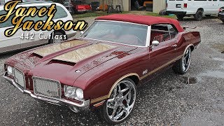 """""""JANET JACKSON"""" 442 CUTLASS : LS SWAP, BMW INTERIOR - Built by Stitched By Slick"""