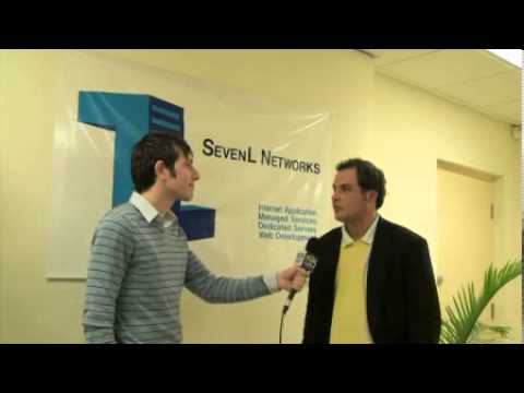 WHIR tv interviews SevenL Networks David Gallo