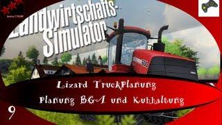 Landwirtschafts Simulator 2013 PS3 [LS13] Titanium #9 Lizard Truck Planung BGA und Kuhhaltung