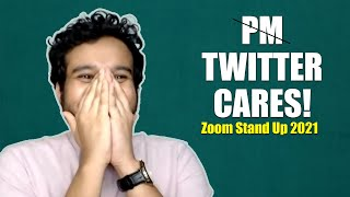 p̶m̶ TWITTER CARES - Zoom Mini Stand Up 2021