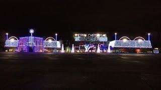 cadger christmas light show 2013 silver bells dubstep remix