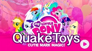 My Little Pony Friendship Celebration Cutie Mark Magic App Game Princess Celestia Canterlot Set Scan