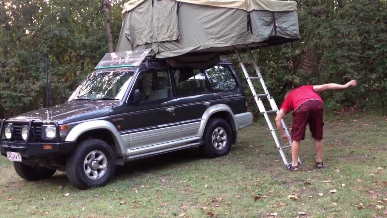 Roof Top Tent Assembly Youtube