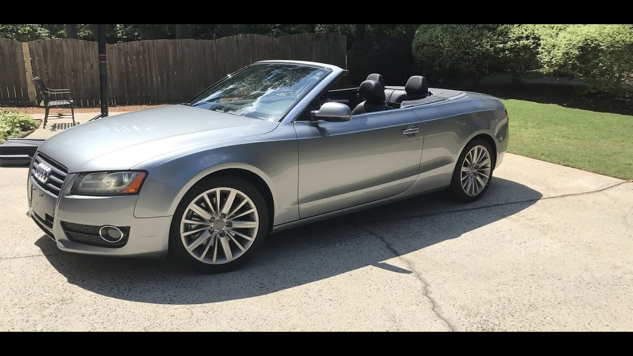 2011 audi a5 convertible review in 3 minutes you 39 ll be an expert on a5 convertibles youtube. Black Bedroom Furniture Sets. Home Design Ideas