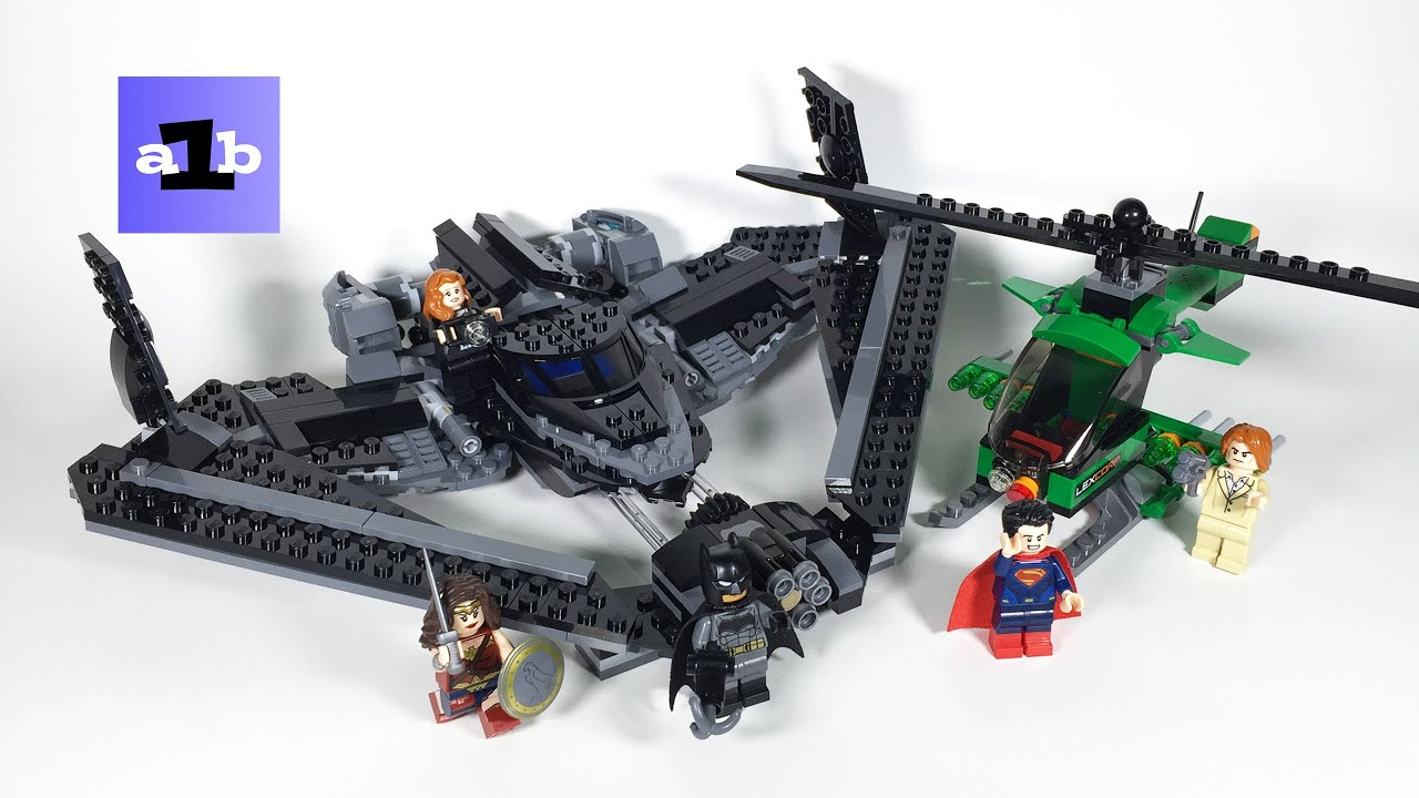 LEGO 2016 SUPER HEROES 76046 Heroes of Justice: Sky High ...