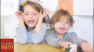 KIDS REACT TO EDVARD MUNCH'S THE SCREAM (Ep. 2)