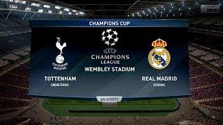 Video TOTTENHAM VS REAL MADRID FC |Champions League 17/18| 01/11/2017 FIFA 18 Predicts by Pirelli7 download MP3, 3GP, MP4, WEBM, AVI, FLV April 2018