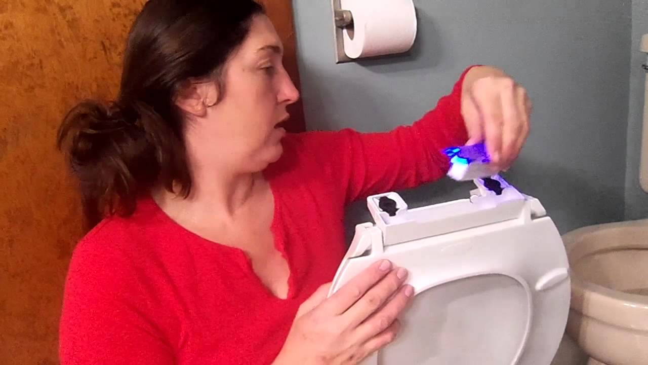 Kohler Nite Lite Toilet Seat Installation And Review Youtube