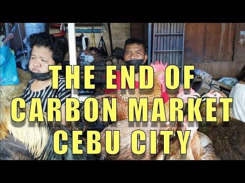 The End Of Carbon Market, Cebu City.
