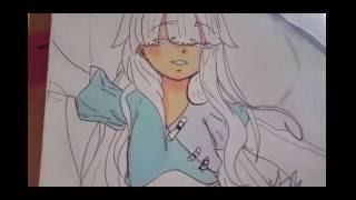 Draw an angel girl