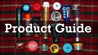 Men's Hair | Guide To Hairstyling Products