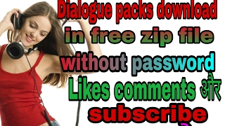 How to download DJ dialogue packs in free . 👍👍 ||Must watch ||