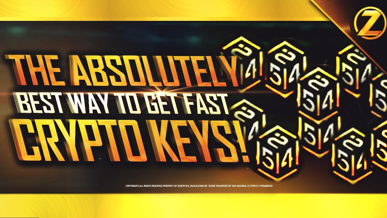 How to earn fast Crypto Keys in CoD: Black Ops 3