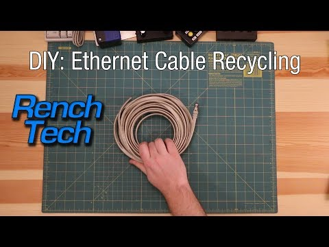 DIY: Ethernet Cable Recycling