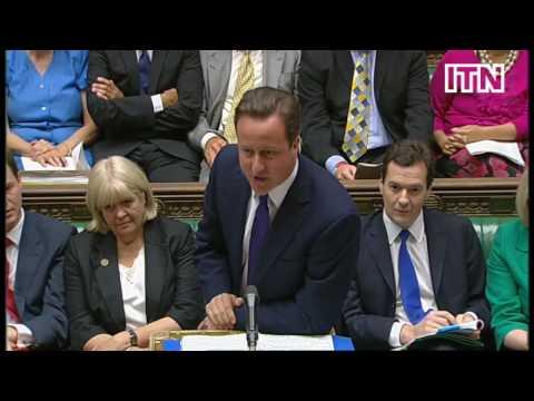 Harriet Harman confronts David Cameron over Budget during PMQs