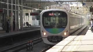 西武30000系秋津駅高速通過