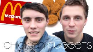 120 Chicken Nuggets in 20 Minutes | MarcusButlerTv & PointlessBlog