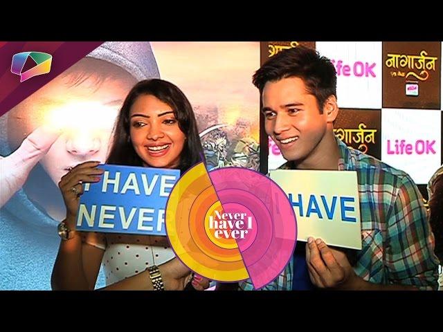 Pooja Banerjee & Anshuman Malhotra play Never Have I Ever