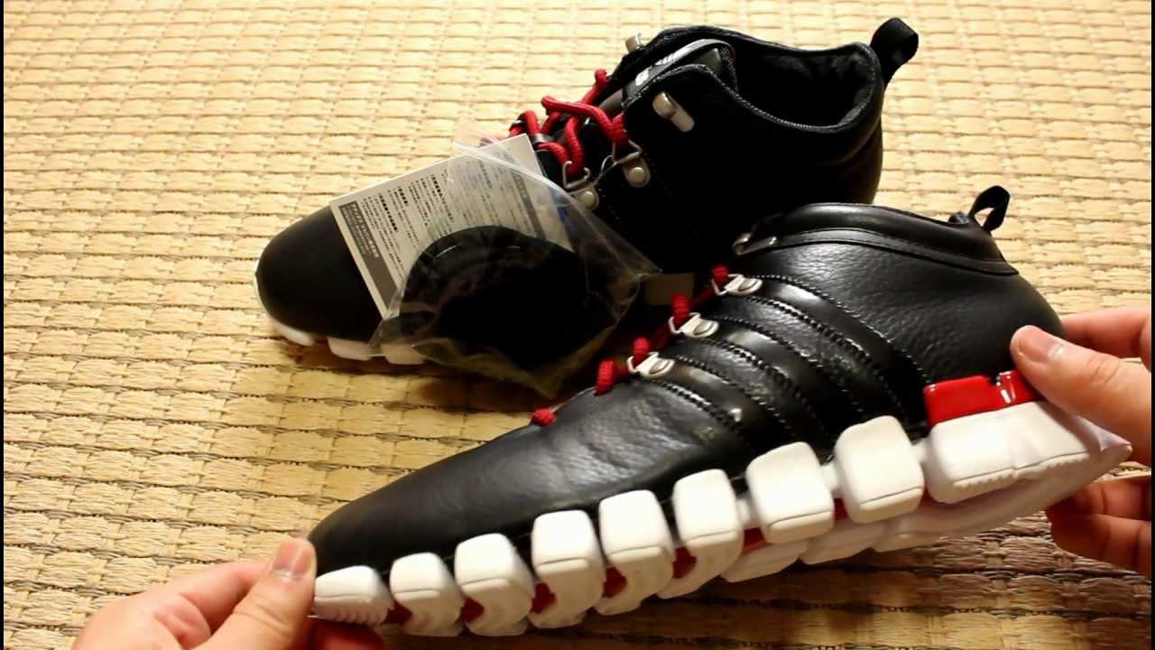 adidas adiMEGA TORSION FLEX MID Black - YouTube 53cf3fcbd