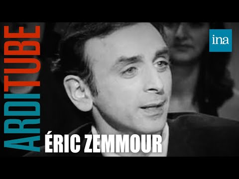 """Eric Zemmour """"L'homme qui ne s'aimait pas"""" - Archive INA"""