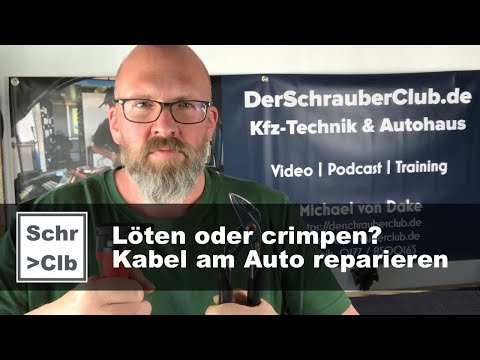Löten Oder Quetschen? Leitungen Instandsetzen / Kabel Am Auto Reparieren