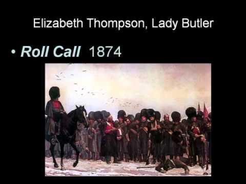ARTH 4117 19th Century 3:  Elizabeth Thompson, Lady Butler